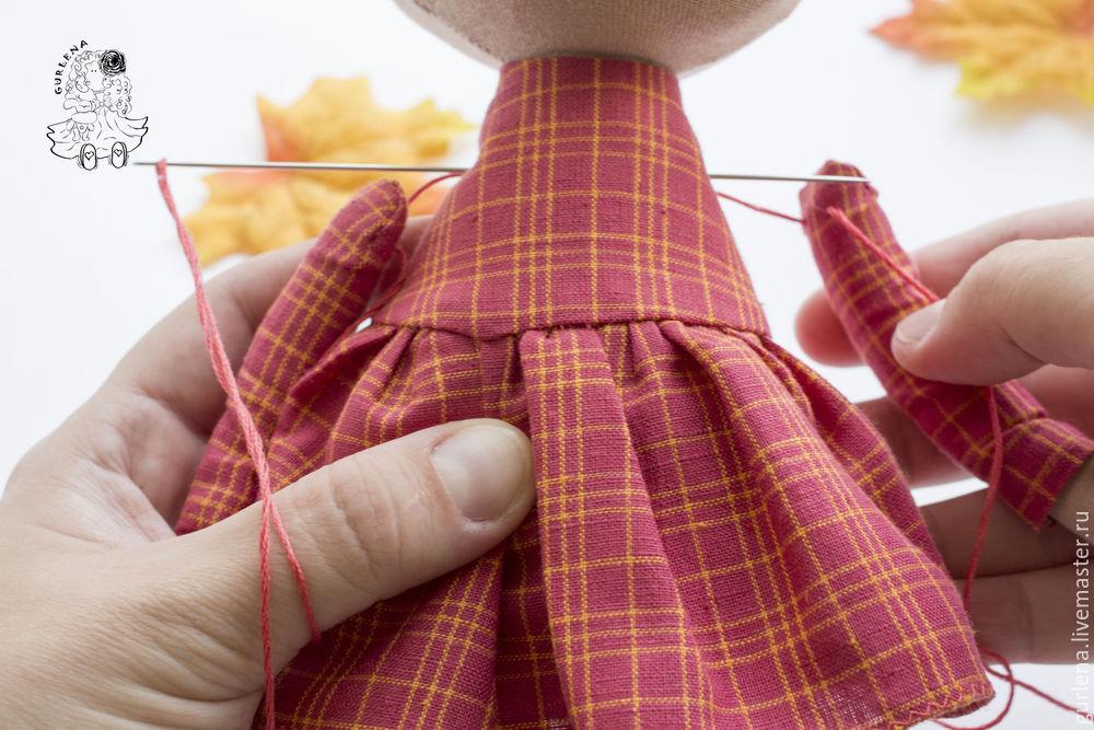Textilpuppe von der Krone zu den Fersen, Foto № 32