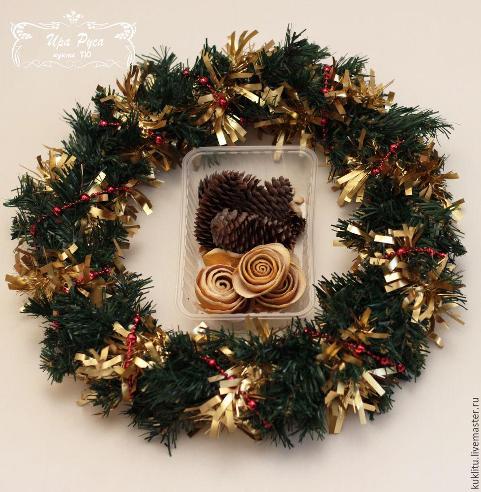 Создаем рождественский венок, фото № 17