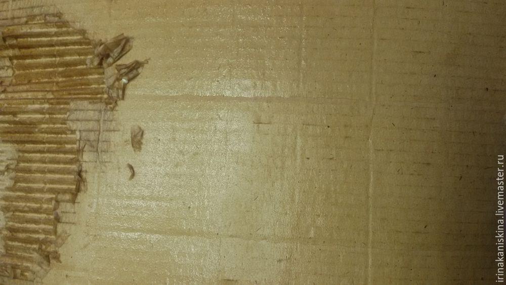 Мастерим петушка из гофрокартона, фото № 2