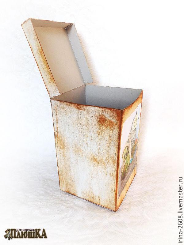 Коробка любого размера с «нуля» своими руками. Быстро, просто, бюджетно, фото № 24