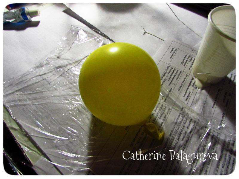 Как сделать шары из ниток и клея ПВА своими руками, фото № 3