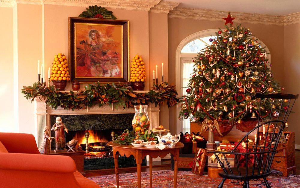 Создаём новогоднее настроение: 50 идей для праздничного декора, фото № 48
