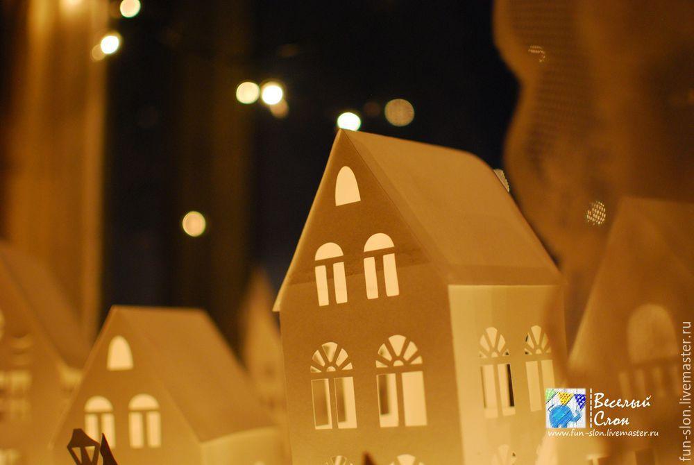 Vytvořit magické město z papíru, fotografie № 48