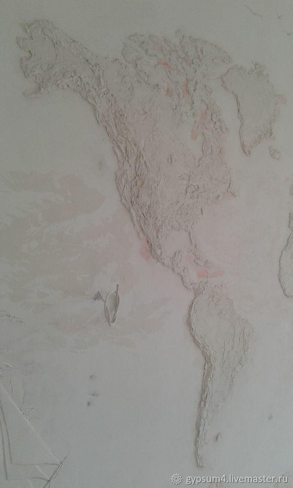 Изготавливаем барельеф «Карта», фото № 14
