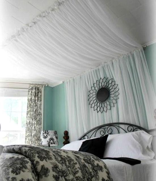 Enkla idéer för hemtak i sovrummet och inte bara, foto nummer 6
