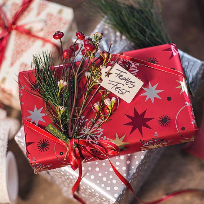 50 interessante ideer til emballering af nytårs gaver, foto № 1