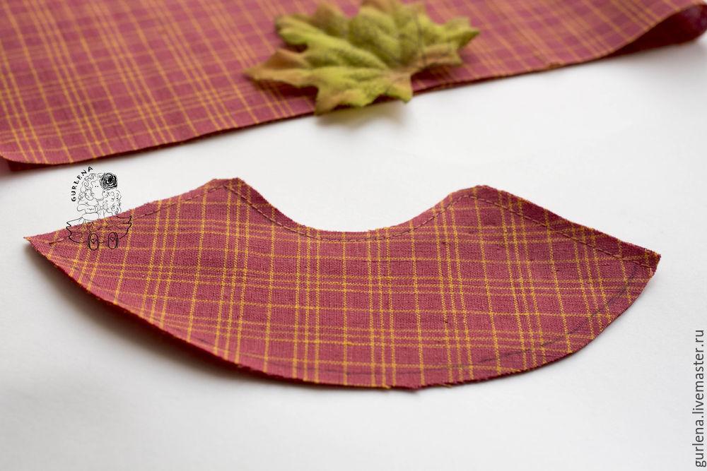 Textilpuppe von der Krone zu Fersen, Foto № 20