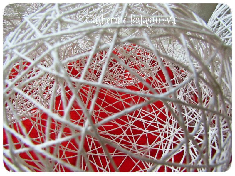 Comment faire des boules de fils et de colle Pva le faire vous-même, photo № 14