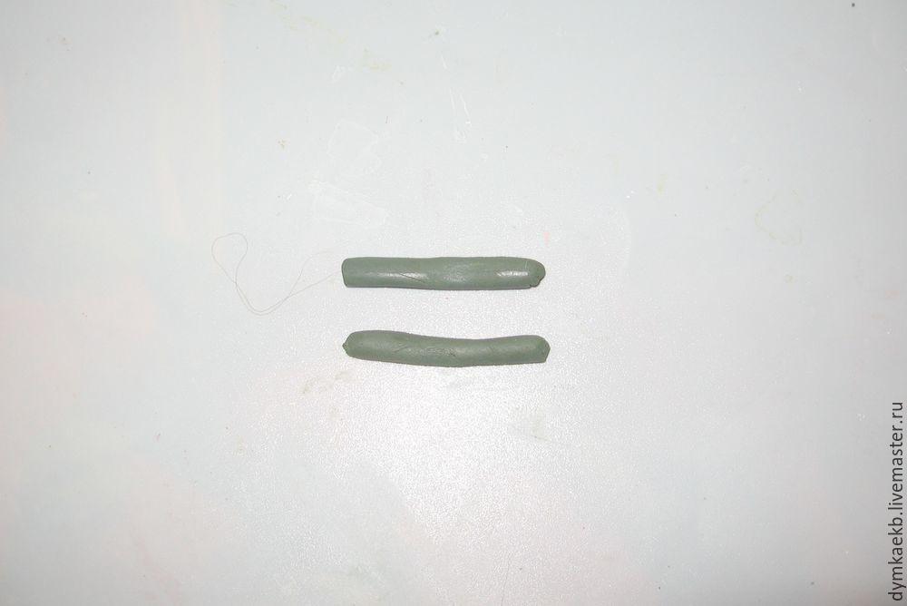 Лайк және Дымковский ойыншықтары коккерелінің суреттері. Модельдеудің 1 бөлігі, сурет № 27