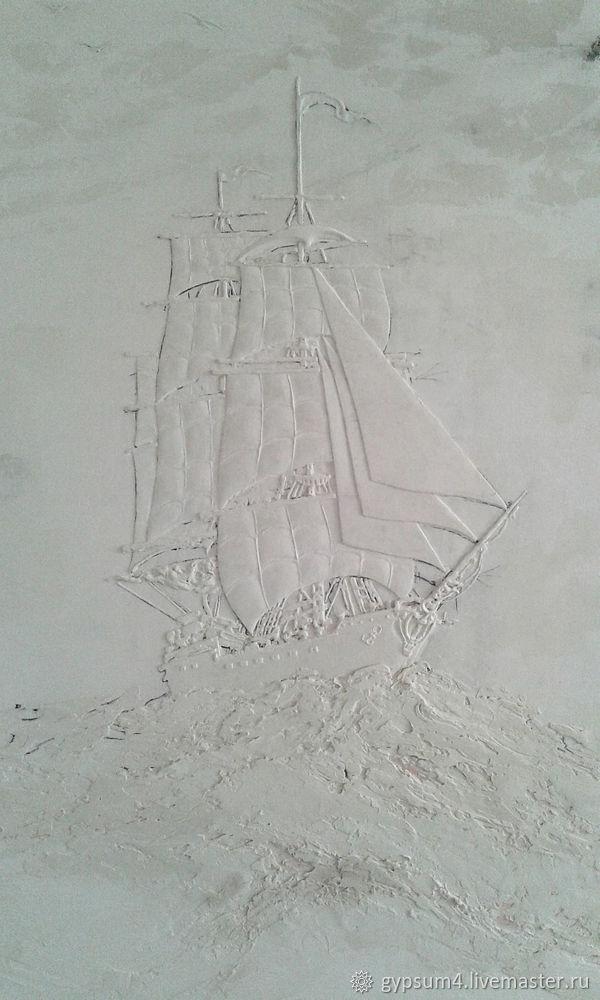 Изготавливаем барельеф «Карта», фото № 18