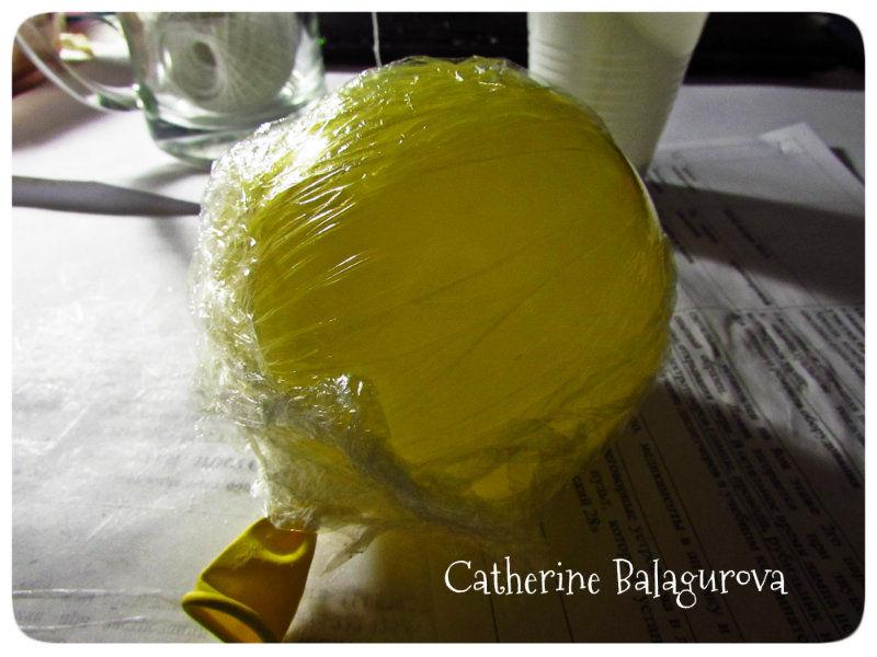Как сделать шары из ниток и клея ПВА своими руками, фото № 4