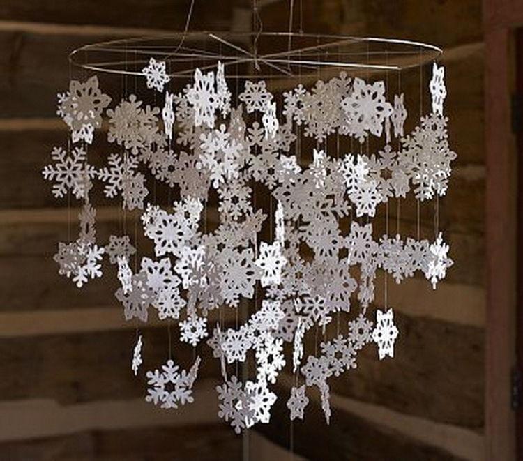 Новогодние гирлянды своими руками 36 несложных вариантов украшения интерьера, фото № 4