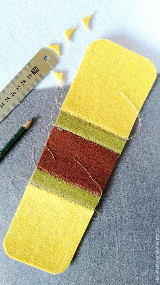 Les maîtres expérimentés conseillent de voir quelques classes de maître sur des couvertures en feutre pour des artisans novices avant de décider de créer.