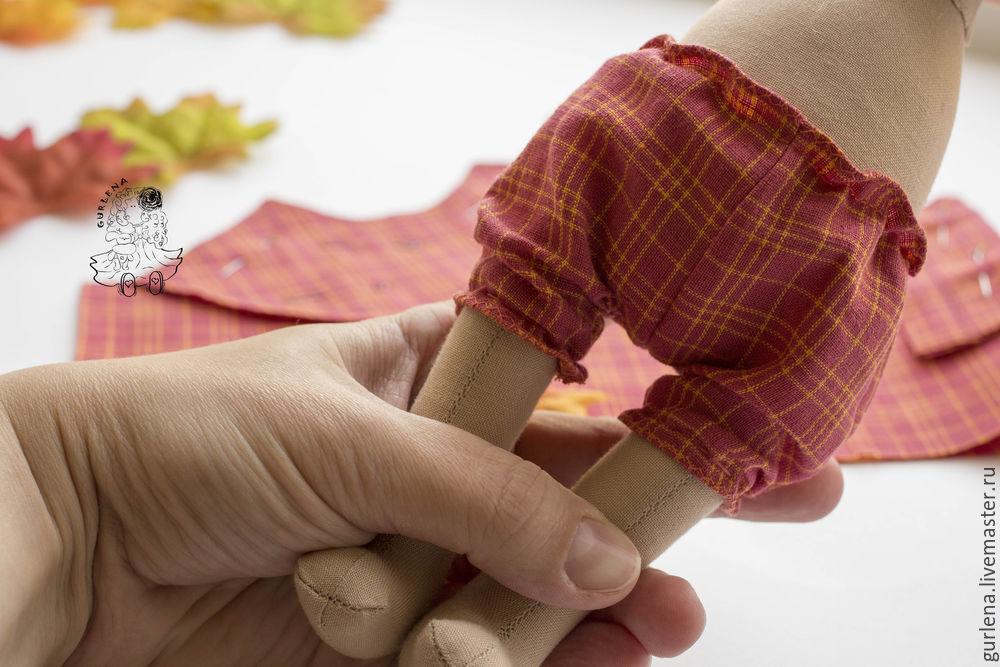 Textilpuppe von Macushku zu Fersen, Foto № 19