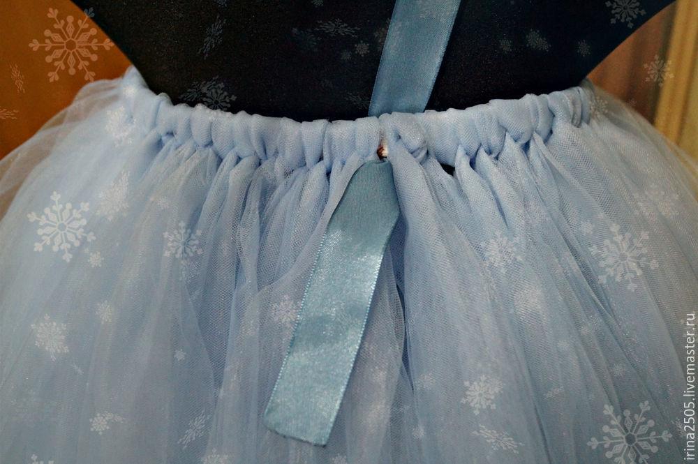 Создаем костюм «Снежинки» на Новый год, фото № 14