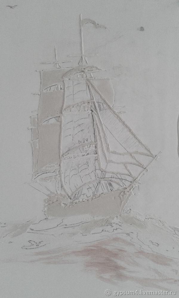 Изготавливаем барельеф «Карта», фото № 6