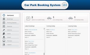 cs619 final project Online Parking Booking System srs