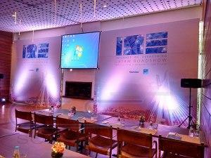 Backdrop - Comstor - Restaurante Figueira Rubayat