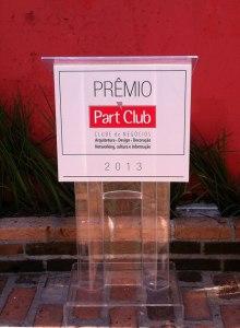 Púlpito de Acrílico Part Club 2013