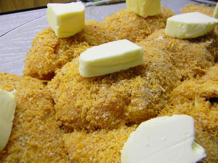 "Chicken rolls ""A la cordon-blue"" di dalam oven Cooking, Recipe, Fillet, Cooking, Long-post, Chicken"