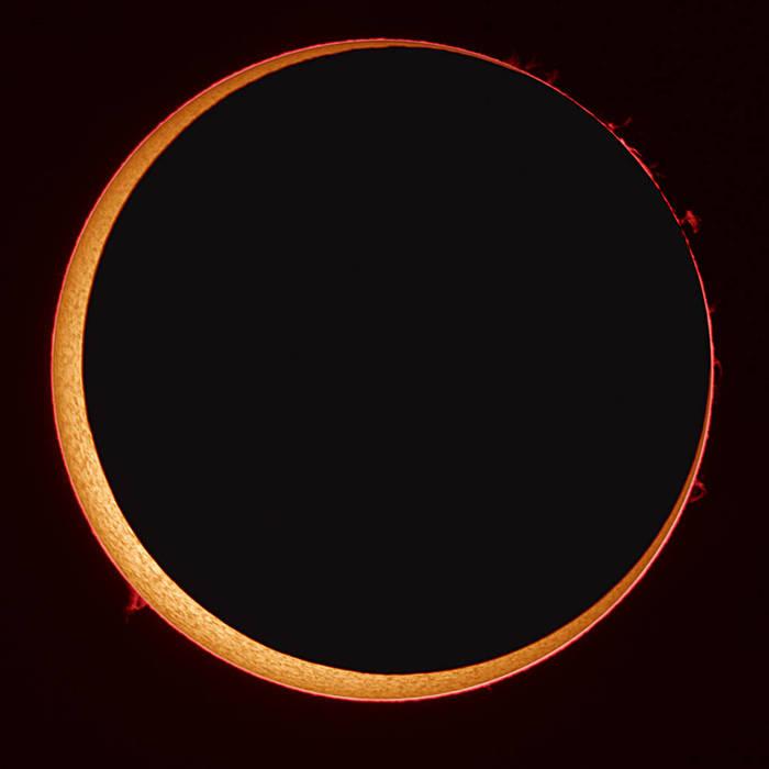 Как наблюдать кольцеобразное солнечное затмение 21 июня Солнечное затмение, Космос, Затмение, Солнце, Гифка, Видео, Длиннопост
