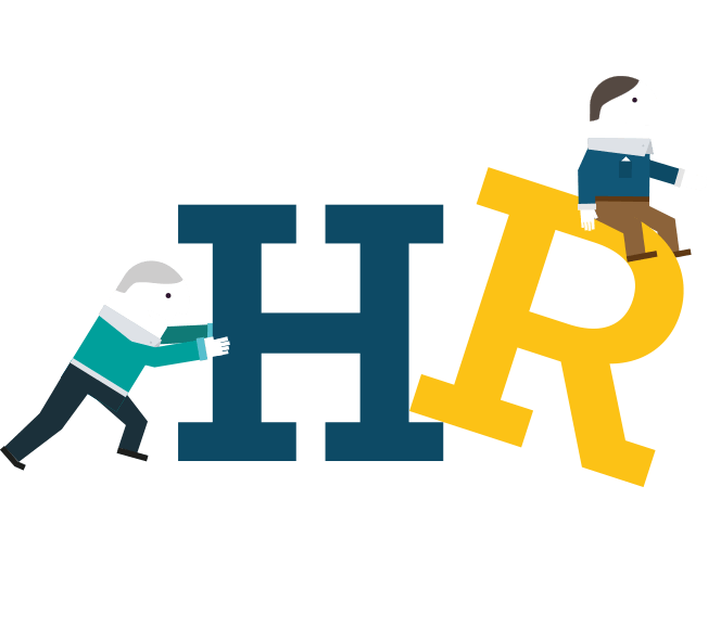 CS Accounting graphic helping with HR