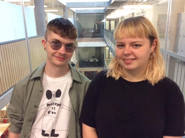 Annie Fenton and Nathan Barnard