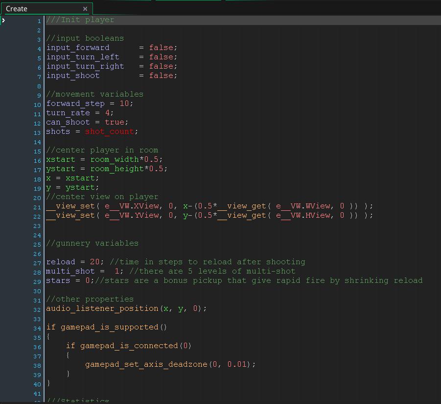 Video Game Tester Cv Sample: GameMaker Studio 2 Impressions: Object Editor