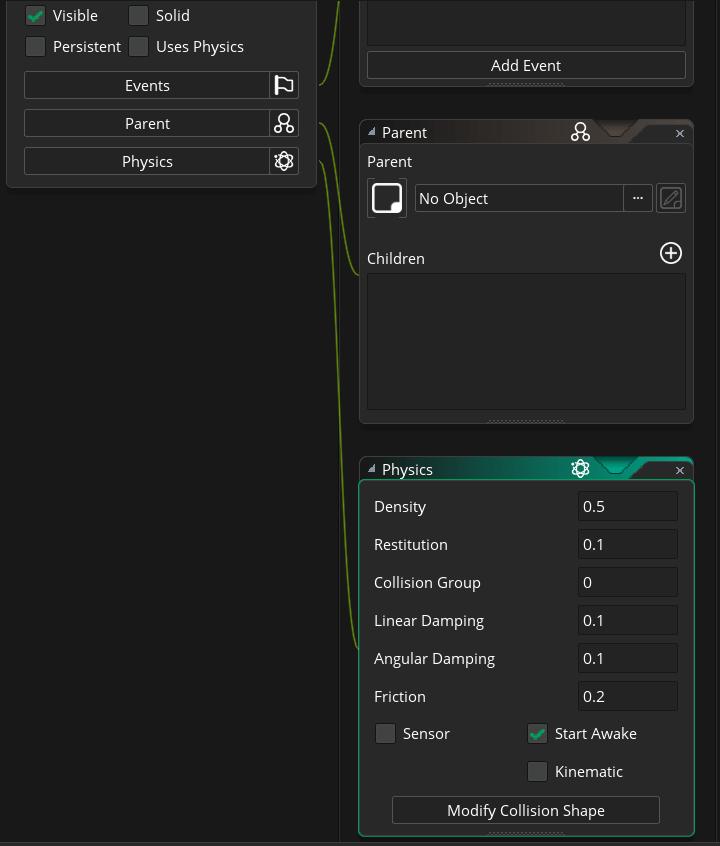 GameMaker Studio 2 impressions: Object editor - csanyk com