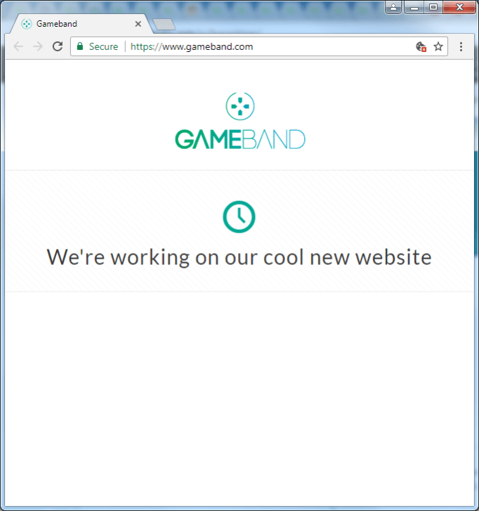 gameband.com screencap