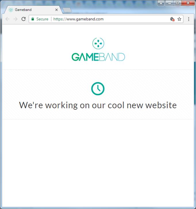 gameband.com screencap