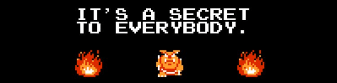 Legend of Zelda - It's a secret to everybody