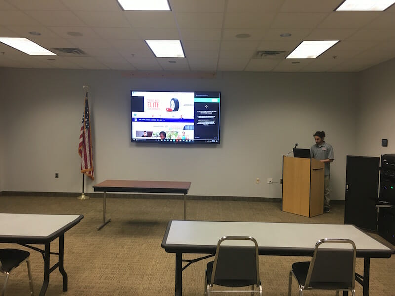 NJ Corporate Meeting Room Screens and Control Systems