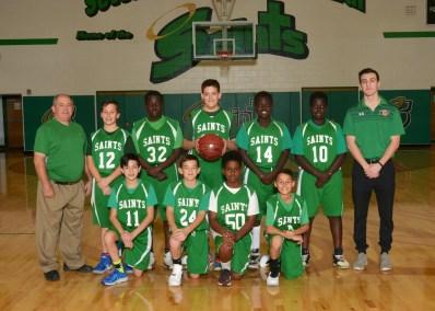Boys Modified Basketball 2018-19