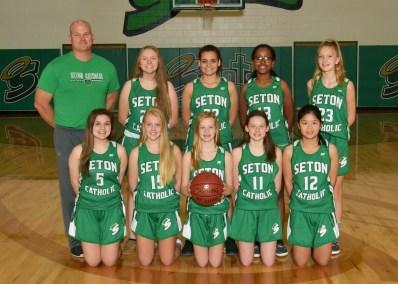 Girls JV Basketball 2018-19
