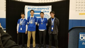 Seton 3rd place 300x169 - Seton placed 1st, 2nd, and 3rd at High School Engineering Day at BOCES