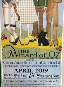 Wizard of Oz 219x300 - SCC Newsletter April 12, 2019