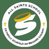 all saints school catholic school broome county logo - all-saints-school-catholic-school-broome-county-logo