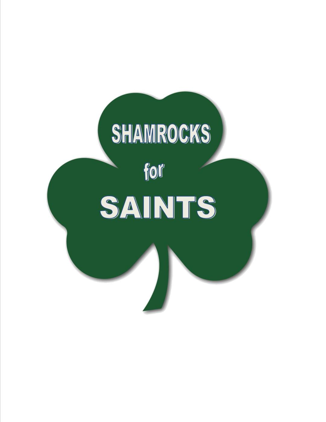 shamrock - Shamrocks for Saints