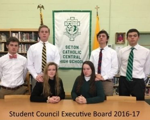 student-council-seton-catholic-central-high-school-broome-county-exective-officers