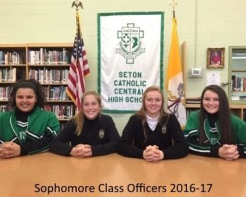 student-council-seton-catholic-central-high-school-broome-county-sophmore-officers