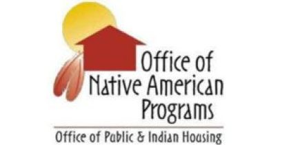 Red house with a sun Office of NAtive American Porgrams