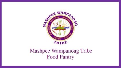 Mashpee Wampanoag Tribe Food Pantry logo