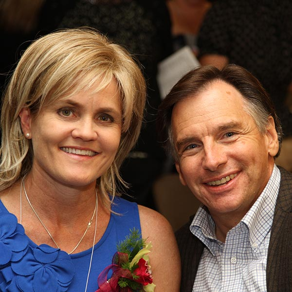 Mary White Frey '80 and Jim Frey '78