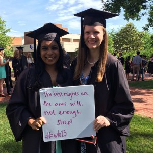 Deirdre Tobin '15 gives advice to future Generals