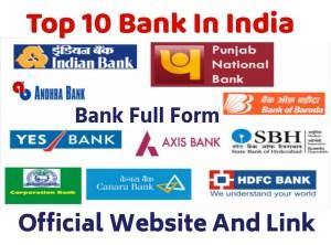 Bank Full Form