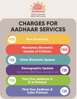 csc aadhar update