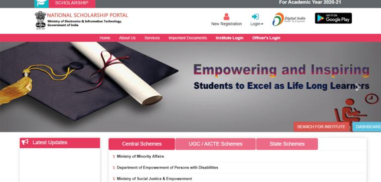 Bihar Scholarship Apply Online