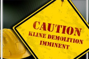Kline Demolition – Photo illustration by T.J. Thomson