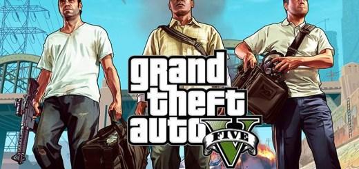 Logo for Grand Theft Auto V